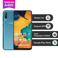 Samsung Galaxy A40s teléfono móvil 6GB RAM 64GB ROM 6,4 pulgadas 4G LTE Android Teléfono Móvil 5000mAh Smartphone
