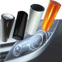 Nueva película protectora de TPU de 10m para faros delanteros de coche luces de niebla de humo película de luz de coche etiqueta engomada accesorios de coche