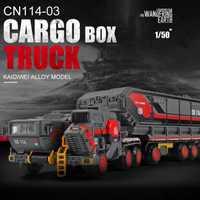 Vehículo de transporte militar, aleación de tierra, modelo de coche, camión de transporte, grúa ingeniería, aleación, modelo de coche, juguete de colección