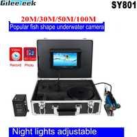 SY801 20/30/50/100M cámara de pesca submarina 7