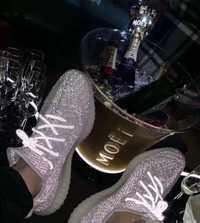 2020 nouvelle marque authentique chaussures d'été noix de coco chaussures 350 dark vador star réfléchissant chaussures décontractées chaussures de sport pour les hommes