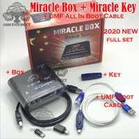 2020 nouvelle boîte Miracle avec clé Miracle Dongle + UMF tout câble de démarrage pour les téléphones mobiles de la chine déverrouiller réparation déverrouiller