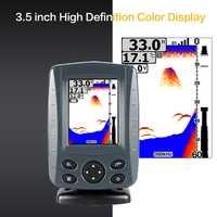 Original Phiradar FF688W-BG inalámbrico 800M Sonar buscador de peces pesca Baitboat eco sirena Color LCD Control remoto