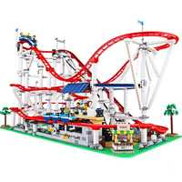 En stock créateur Expert montagnes russes Technic Set blocs de construction briques compatibles Legoinglys 10261 15039 cadeau d'anniversaire jouet
