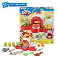 Hasbro play-doh timbre 'n Top four à Pizza jouet avec 5 Non-toxique jeu Doh couleurs créations de cuisine argile composée pour enfants jeu amusant