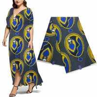 Tela africana de impresión de ankara nigeriana 100% algodón telas de retazos ropa de moda de alta calidad bloque de cera java estampado! DF-4519