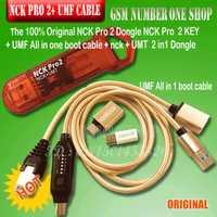 100% 2019 Original NCK Pro Dongle NCK Pro2 Dongl nck clé NCK DONGLE + UMT DONGLE 2 in1 + umf tout en câble de démarrage expédition rapide