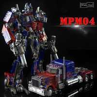 Nueva llegada WJ Robot de transformación MPM04 MPM-04 manzana negra W8606 OP versión de gran tamaño figura de acción modelo colección