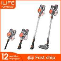 Nouveauté ILIFE H70 aspirateur à main 21000Pa forte puissance d'aspiration bâton sans fil bâton aspirateur 1.2L grande poubelle