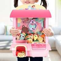 Enfants griffe Machine électronique attraper poupée bricolage poupée Machine maison monnayeur receveur Mini distributeur automatique cadeau pour enfants jouets