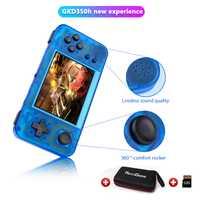 GKD 350H-GameKiddy RG350H rétro Console de jeu-Portable jeu vidéo Portable 3.5 pouces IPS écran joueur de jeu RG350 H