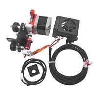 Remplacement nouveau Kit d'alimentation d'entraînement d'extrudeuse de Filament 1.75mm amélioré avec moteur d'impression de buse de 0.4mm pour crealité Ender 3 Pro