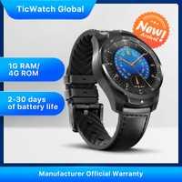 TicWatch Pro 2020 1GB mémoire RAM Smartwatch double affichage IP68 étanche NFC disponible suivi du sommeil moniteur de fréquence cardiaque 24h