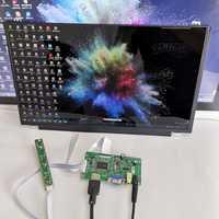 Module d'affichage tactile capacitif de 15.6 pouces 1920X1080 pour Linux/android/win7 8 10 kits de bricolage d'écran LCD plug and play framboise Pi3