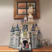 Lepinblock 16008 amis compatibles 71040 legoinglys princesse disney château ville modèle blocs de construction fille cadeau briques