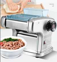 220V máquina eléctrica de fideos máquina multifuncional eléctrica de espagueti máquina de prensa masa hacer fideos Dumpling Wonton piel