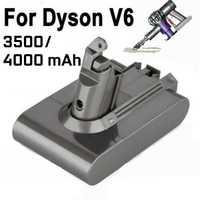 Batterie d'aspirateur Li-ion 4000mAh 3500mAh pour batterie Dyson V6 DC58 59 61 62 72 74 batterie de remplacement pour aspirateur
