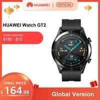 En Stock Version mondiale HUAWEI montre GT 2 GT2 GPS 14 jours de travail téléphone étanche appel intelligent traqueur de fréquence cardiaque pour Android iOS