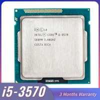 Intel Core i5-3570 I5 procesador 3570 i5 3570 LGA1155 de la computadora de la PC de escritorio CPU Quad-Core CPU 3470 3770 core i5 3570