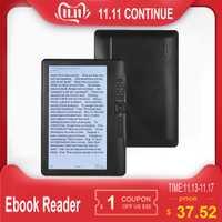 Lecteur Ebook 7 pouces 4 GB/8 GB/16 GB de mémoire ajouter des ensembles avec résolution HD E-book + vidéo + lecteur de musique MP3 écran couleur E lecteur