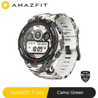 Nouveau 2020 CES Amazfit t-rex T rex Smartwatch robuste corps montre intelligente GPS/GLONASS 20 jours batterie pour Xiaomi iOS Android
