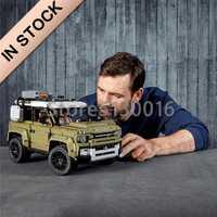 En existencia 93018 Technic Car Series 2573 edificio modelo Uds Compatible con 42110 juguetes para niños regalos de navidad