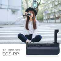 Mcoplus BG-EOSRP soporte de agarre de batería Vertical para Canon EOS RP EG-E1 de reemplazo de cámara funciona con batería de LP-E17