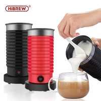 Machine de mousseur de lait HiBREW MF04 froide/chaude double usage Machine de chocolat chaud domestique entièrement automatique 400W prise ue/royaume-uni