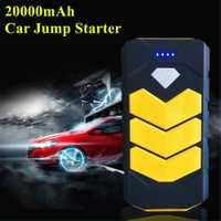 2019 dispositivo de arranque de emergencia 20000mAh Power Car Starter Jumper portátil 12V Diesel gasolina cargador de coche para el potenciador de la batería del coche