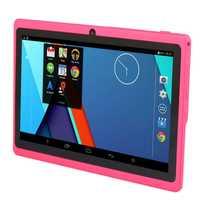7 pouces enfants tablette Android Quad Core double caméra WiFi éducation jeu cadeau pour garçons filles, rose
