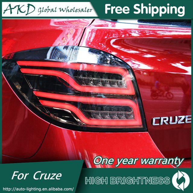QZG US $224.46 AKD Car Styling for Chevrolet Cruze Tail Lights Cruze Hatch Back LED Tail Light LED Rear Lamp DRL+Brake+Park+Signal