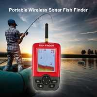 Outlife inteligente portátil para pesca, buscador de peces de profundidad, 100 M, Sensor de Sonar inalámbrico, sonda de eco, buscador de peces, pesca en el lago, Mar 1