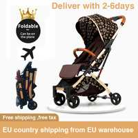 5.8kg poussette légère Portable pliant parapluie chariot cadre en aluminium bébé poussette voyage landau avion nouveau-né voiture livraison gratuite