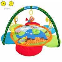Bébé infantile jouer tapis enfants rond ramper tapis tapis de sol bébé literie couverture coton jouer jeu Pad enfants chambre décor