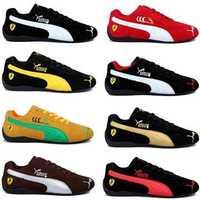 ¡Novedad de 2020! Zapatos de carreras para hombre pumas, zapatos de pareja de ferrarimomorcycle, zapatos bajos para mujer, zapatos deportivos planos