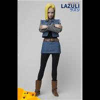 TY-007 1/6 escala PVC figura de acción Dragonball Android 18 LAZULI Anime Naruto 12 ''muñeca modelo móvil para Fans colección regalos