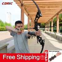 30-50lbs potente arco recurvo de Tiro con Arco Venta caliente profesional arco flechas para caza al aire libre competencia de tiro envío gratis