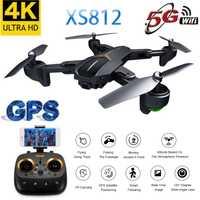 2019 nouveau Drone GPS XS812 avec caméra 4K HD 5G WIFI FPV Altitude tenir une clé retour hélicoptère quadrirotor RC pour les enfants