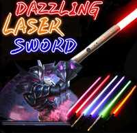 Sabre laser Jedi Sith Luke sabre lumineux Force FX lourd Dueling Rechargeable couleur changeante son FOC verrouiller métal poignée épée
