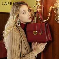 LAFESTIN 2019 nouveau luxe sacs à main de mode en cuir sac à main qualités épaule sac de messager dames fourre-tout bolsa feminina