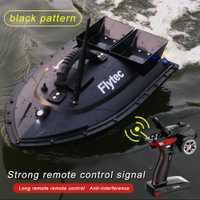 Flytec V500 cebo de pesca RC barco 500m remoto buscador de peces doble Motor 2-24 Horas RC Barco de juguete al aire libre con transmisor