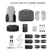 DJI Mavic Mini DJI mouche plus Combo MT1SS5 Drone Portable Maximum 30 Minutes de temps de vol HD capteur de Vision vidéo GPS vol stationnaire précis