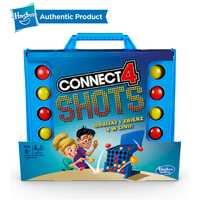 Hasbro Connect 4 coups jeu Cool bataille conseil Team Building Fun jeux d'école pour les enfants de 8 ans et plus bon jouet pour les enfants d'âge préscolaire