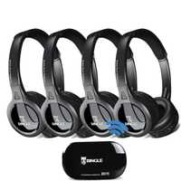 4 Pack 2,4G transmisor inalámbrico de Audio Casque auriculares universales para Samsung, LG, TCL, Xiaomi, sony Levono Honor TV