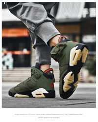 Haut Jordan chaussures de basket-ball hommes amorti léger basket-ball baskets mâle Zapatos Hombre respirant chaussures de sport de plein air