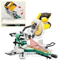 Máquina cortadora varillas Sierra ingleteadora multifuncional de 7 pulgadas máquina de corte biselado multiángulo 0-45 grados