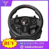 PXN V900 Gaming volant 900 ° degré manette de jeu course jeu vidéo Vibration pour PC/PS3/4/Xbox-One/Xbox 360/n-switch c