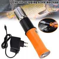 1 Uds escalador de pescado eléctrico escalador de pesca limpiador removedor limpiador impermeable GHS99