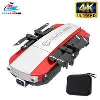 H3 Mini Drone 4K 1080P HD double caméra WIFI en temps réel aérien FPV flux optique RC quadrirotor hélicoptère pliable Dron jouets pour enfant