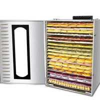 Deshidratadores de frutas y alimentos, secadora de frutas secas, máquina comercial doméstica de frutas y verduras, secador de té de frutas solubles